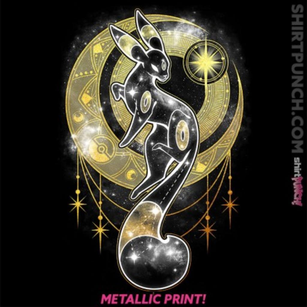 ShirtPunch: Starry Black Moon