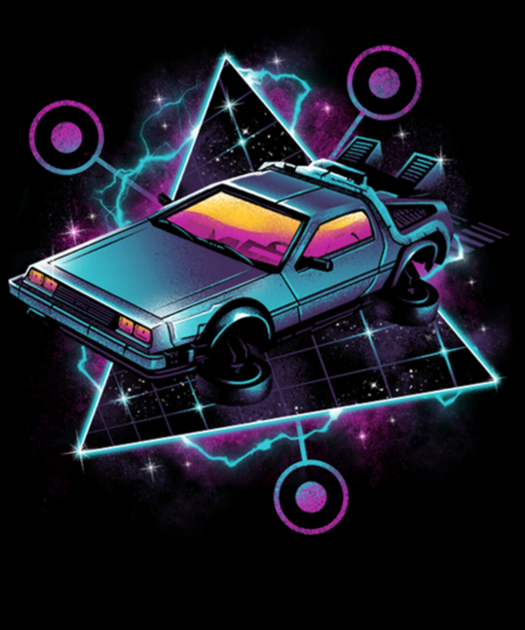 Qwertee: Retro Wave Time Machine