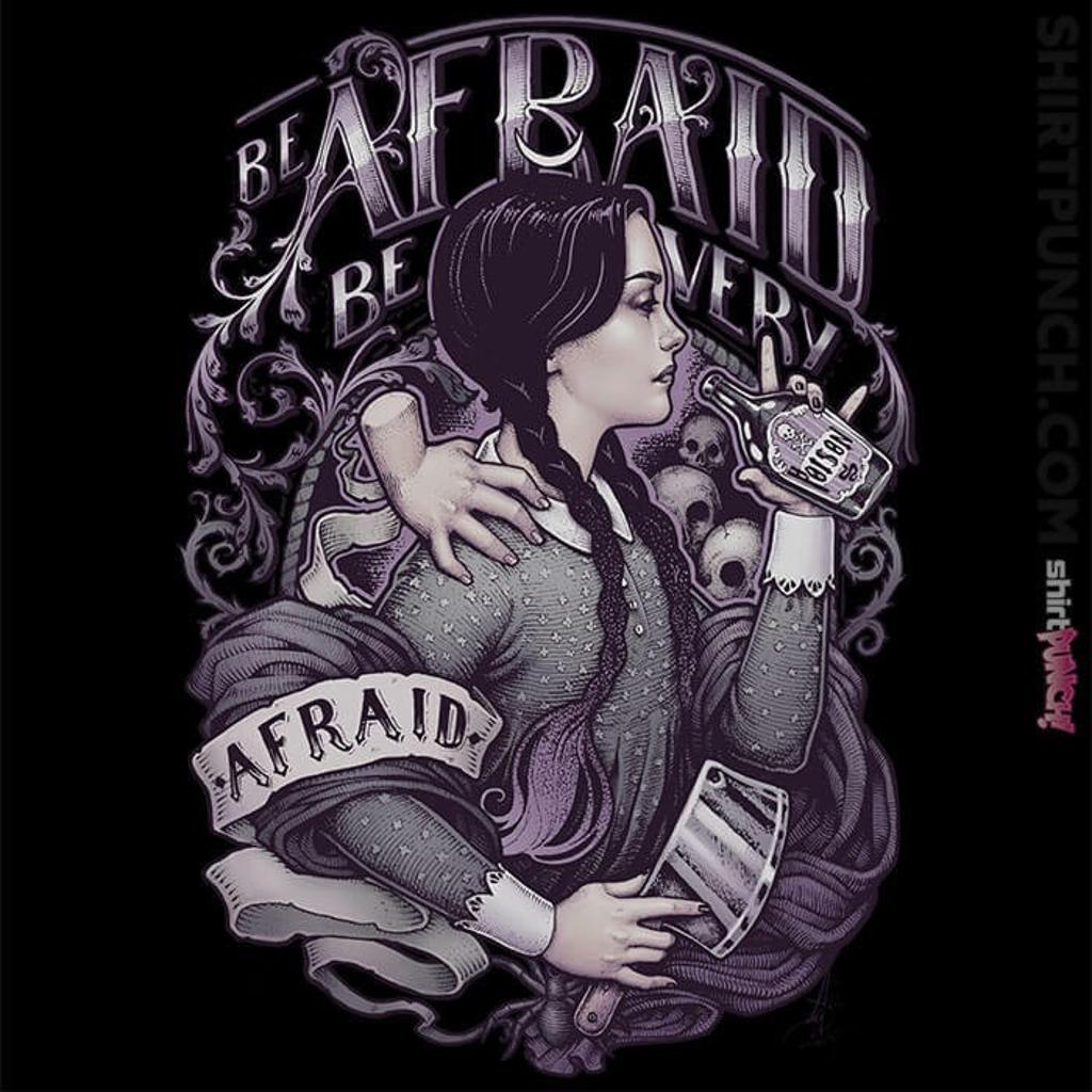 ShirtPunch: Be Afraid