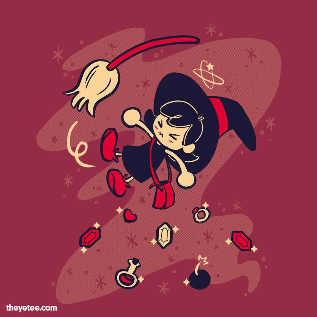 The Yetee: Bumping into a witch