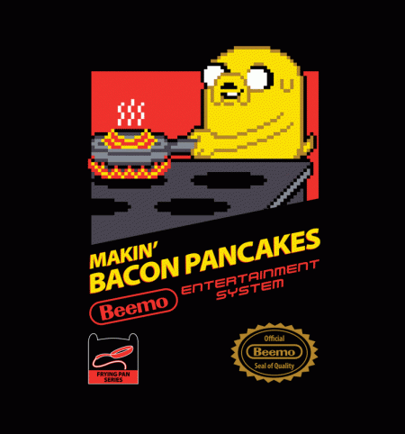 BustedTees: Super Makin Bacon Pancakes
