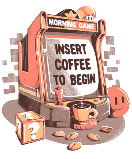 Qwertee: Insert Coffee To Begin