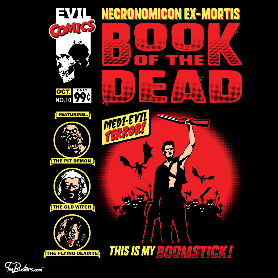 TeeBusters: Book Of The Dead