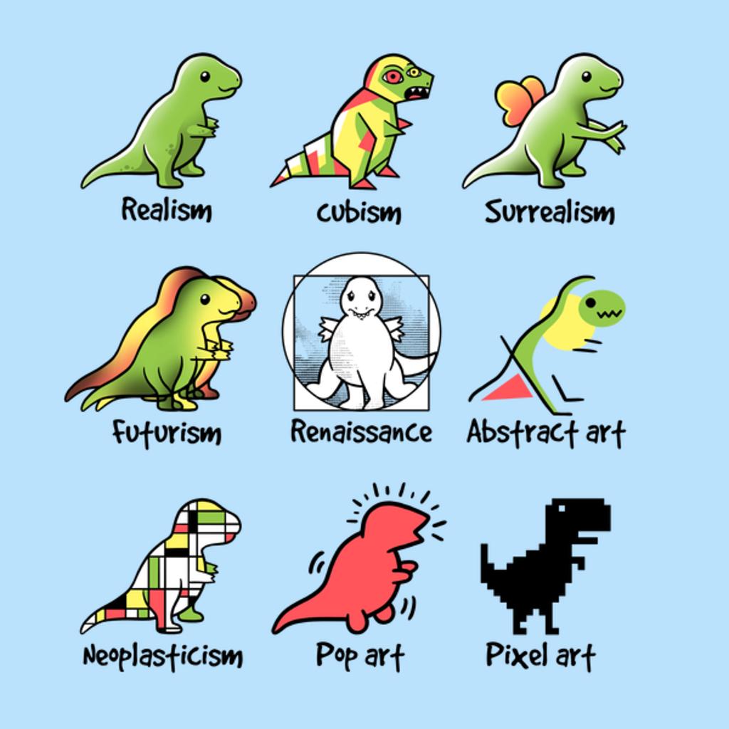 NeatoShop: t-rex art