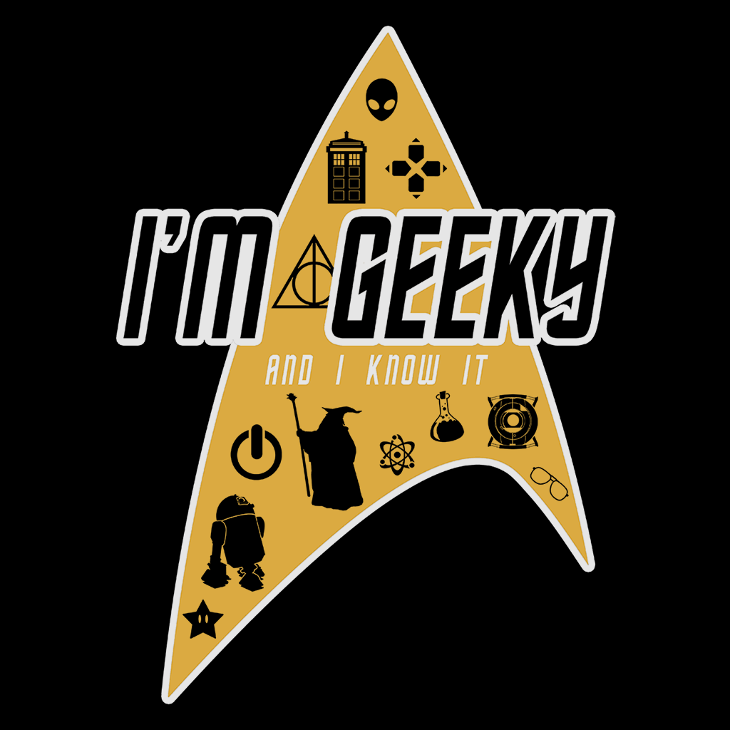 Pop-Up Tee: Im Geeky And I Know It
