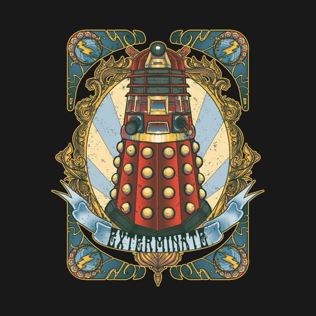 TeePublic: Dalek New-Nouveau