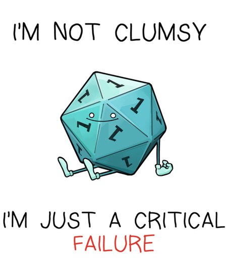 Qwertee: Critical Failure