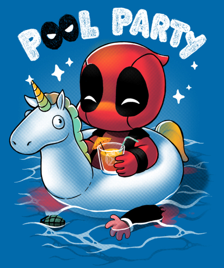 Qwertee: Pool Party