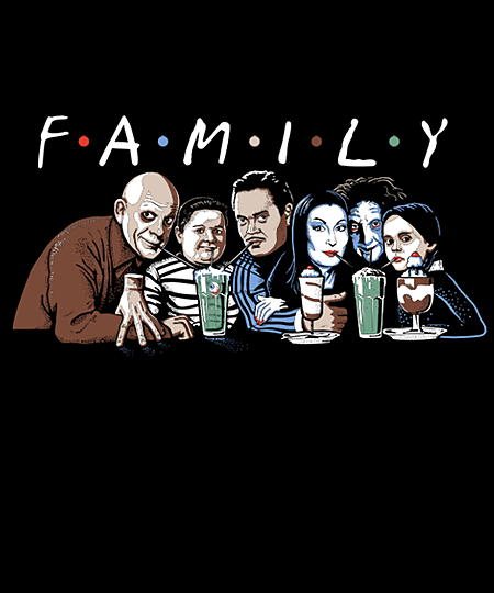 Qwertee: FAMILY