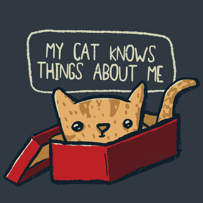 Wear Viral: Cat Knows Things