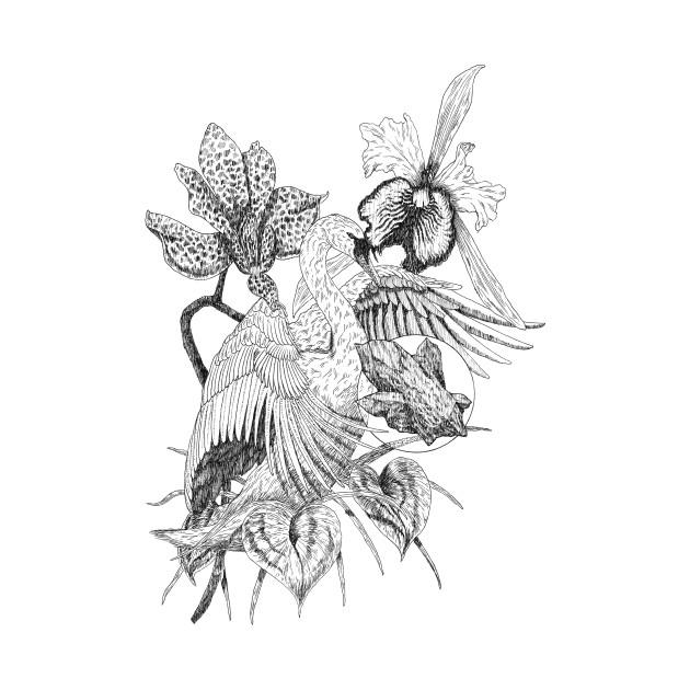 TeePublic: Lovely Swan