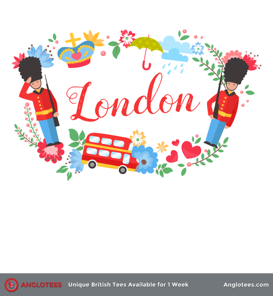 Anglotees: London Floral