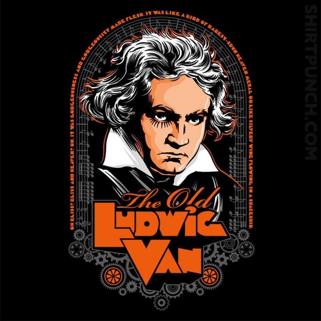 ShirtPunch: Ludwig Van
