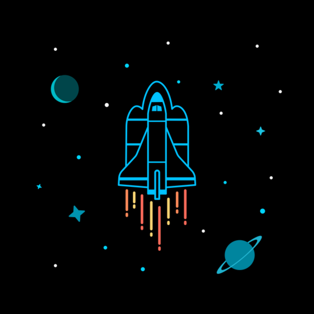 NeatoShop: Space Ship In Outer Space