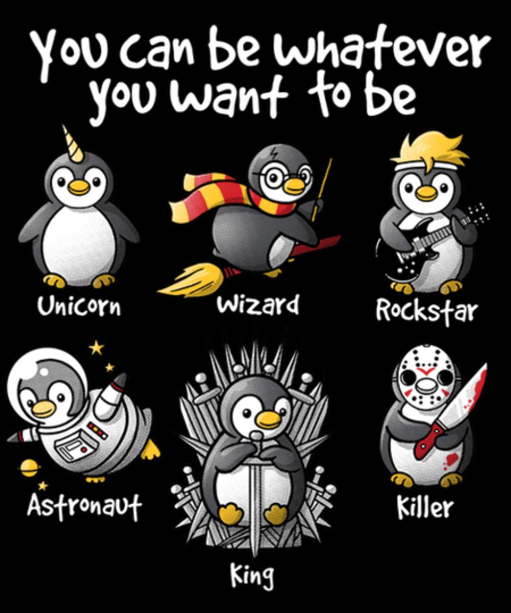Qwertee: Be a penguin