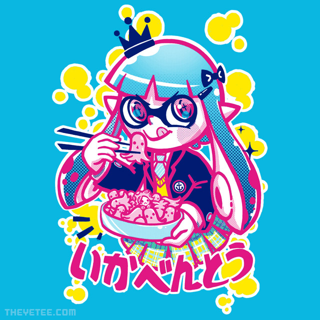 The Yetee: Ika Bento