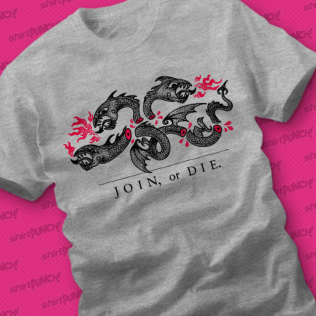 ShirtPunch: Join or Die