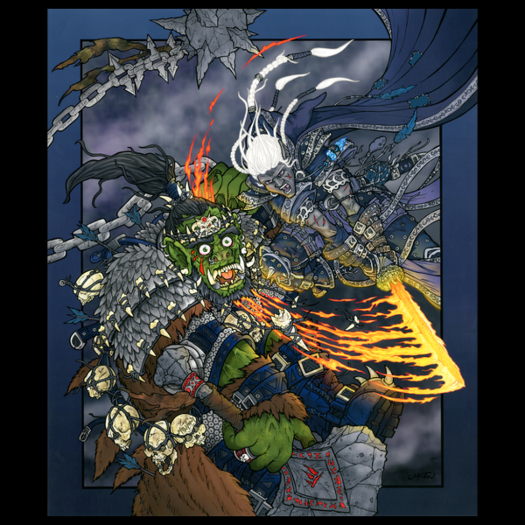 NeatoShop: The Fallen Orc King T-Shirt