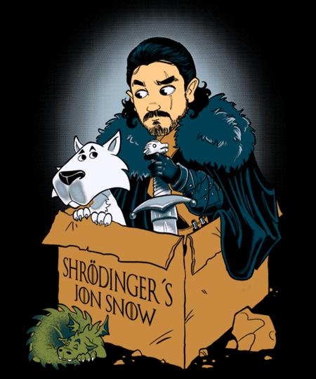 Qwertee: Shroedinger's Jon Snow