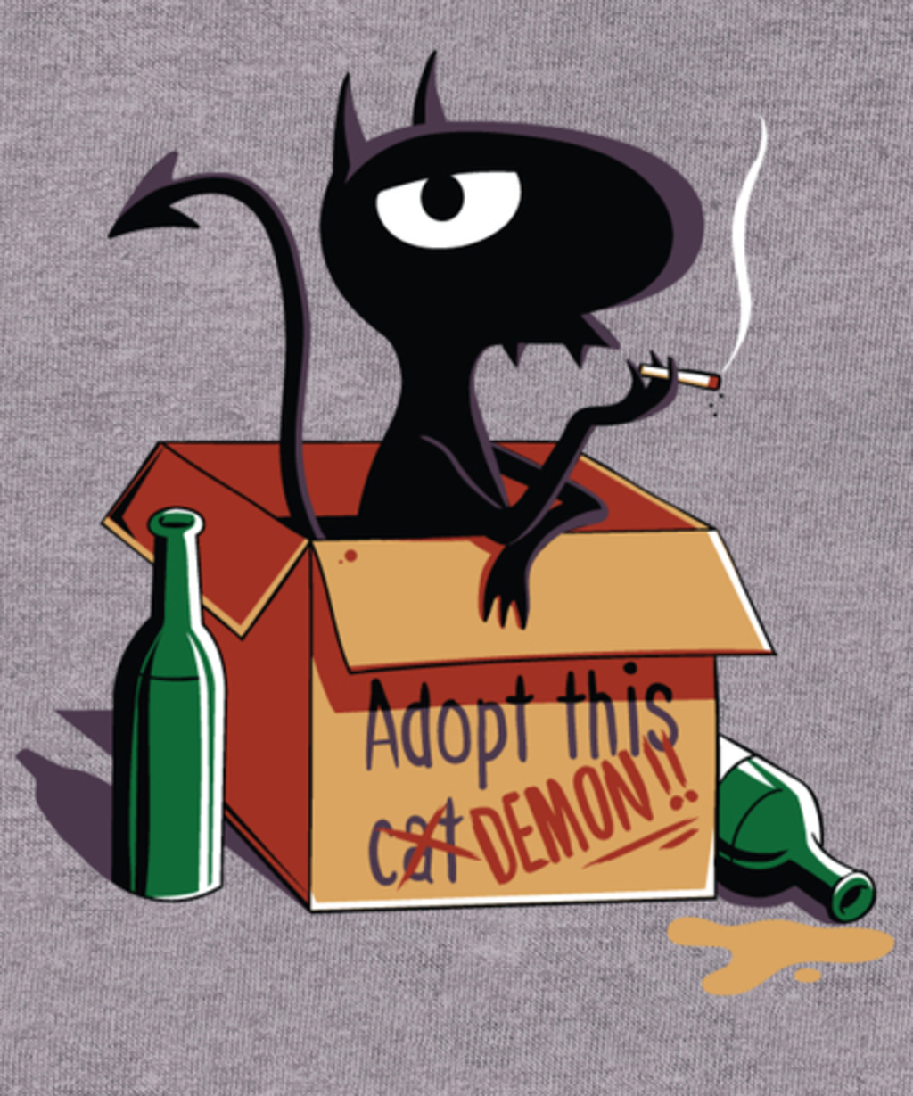 Qwertee: Adopt this Cat