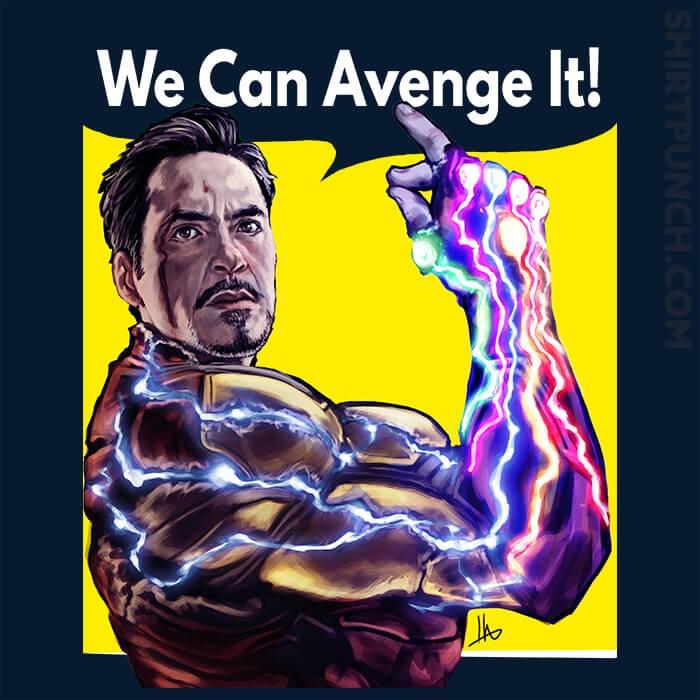 ShirtPunch: We Can Avenge It!