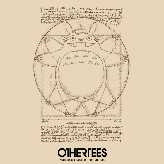 OtherTees: Vitruvian Neighbor
