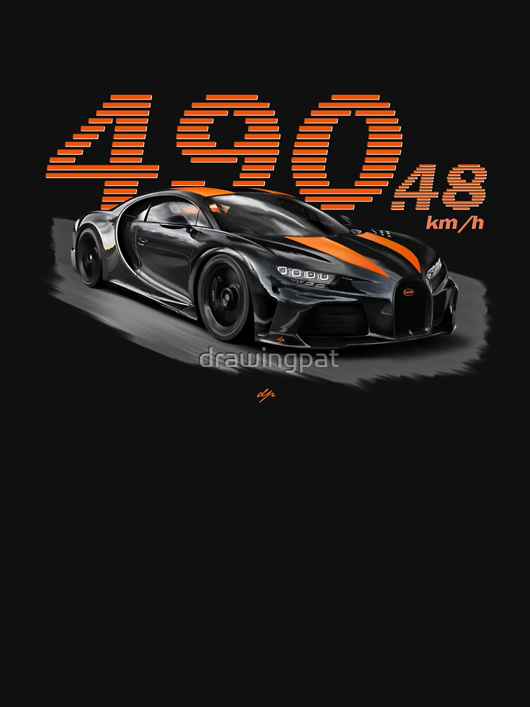RedBubble: Bugatti Chiron Supersport 300+ Design