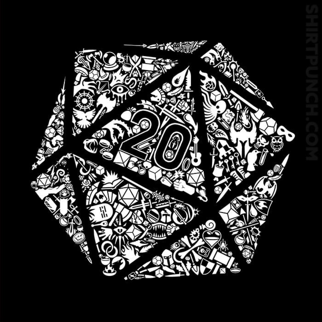 ShirtPunch: Mosaic D20