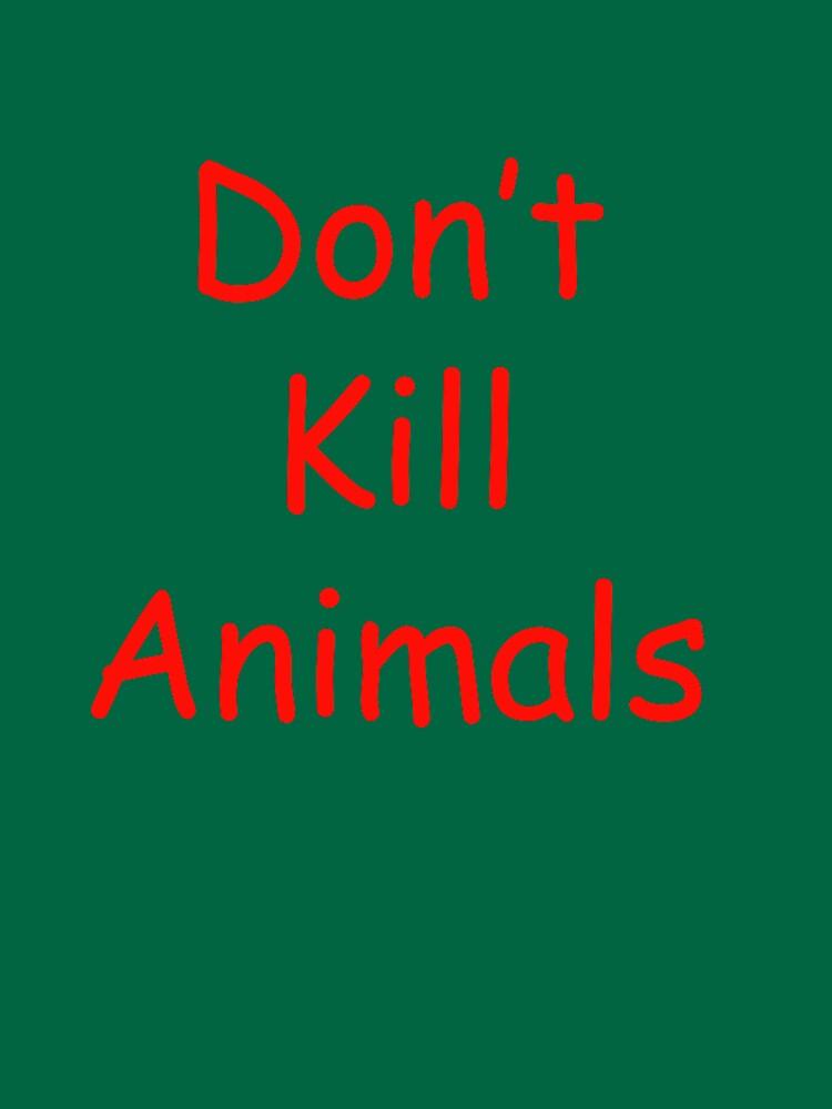 RedBubble: Don't kill animals