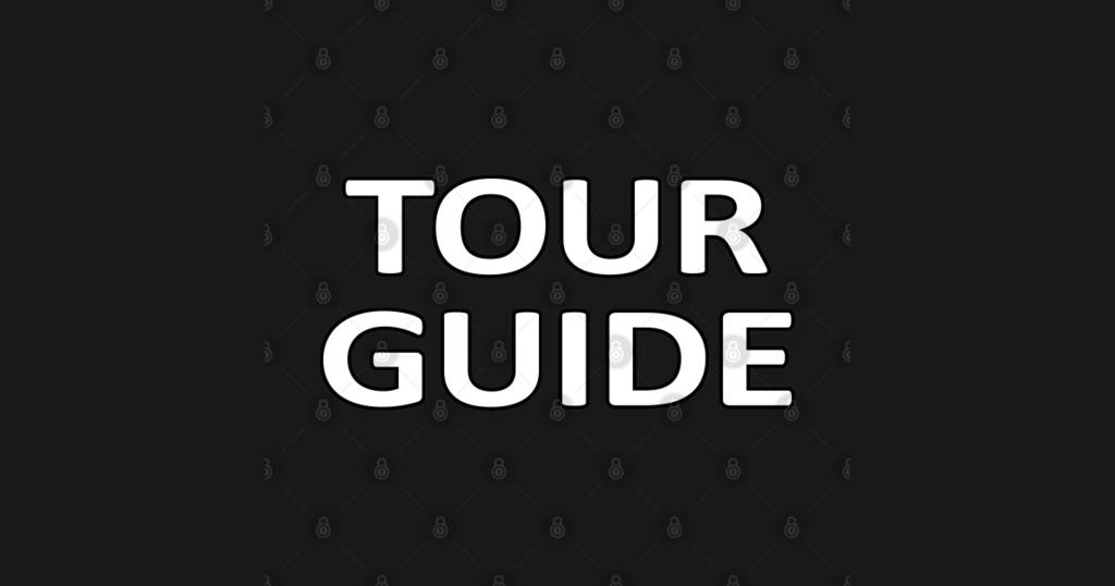 TeePublic: Tour Guide