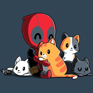 TeeTurtle: Deadpool's Soft Side